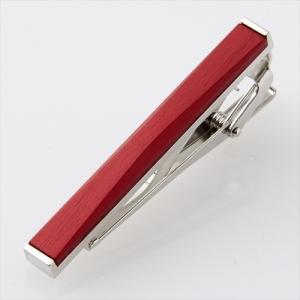 ネクタイピン タイバー アルマイト  日本製 赤 レッド メンズ 小物 おしゃれ オジエ ozie|ozie