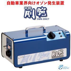 オゾン脱臭機 剛腕300 GWN-300CT 自動車向けオゾン発生装置