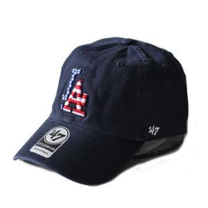 ドジャース USAロゴ刺繍 フォーティーセブン 47Brand カーブキャップ 紺 SPGBN12GWS 帽子|ozshop