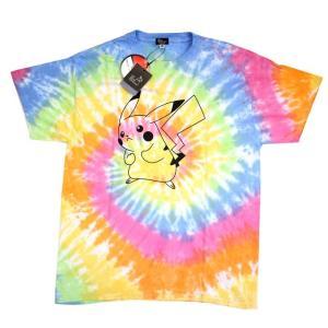 go slow Caravan ゴースローキャラバン×ポケモン ピカチュウ Tシャツ タイダイ Pokemon GO|ozshop