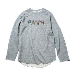 PAWN パウン クルーネックスエット(スゥエット) グレー No.92305|ozshop