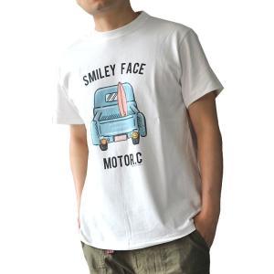 スマイル ニコちゃん SMILEY FACE Tシャツ SFST-801 スマイリーフェイス|ozshop