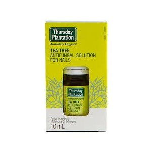 ◆爪水虫用アンチファンガルソリューション(Tea Tree Antifungal Solution for Nails ) 10ml 【Thursday Plantation】
