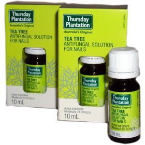 ◆爪水虫用アンチファンガルソリューション(Tea Tree Antifungal Solution for Nails ) 10ml×2個セット 【Thursday Plantation】
