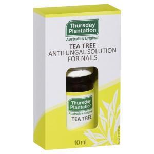 爪水虫 アンチファンガルソリューション (Tea Tree Antifungal Solution for Nails ) 10ml Thursday Plantation