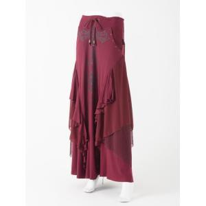 レイヤードロングスカート|ozzonjapan