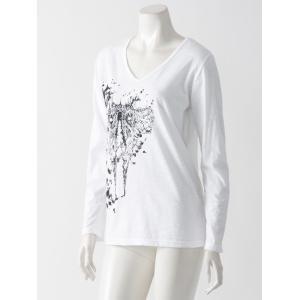 浮遊要塞(野伏せり様)VネックTシャツ|ozzonjapan