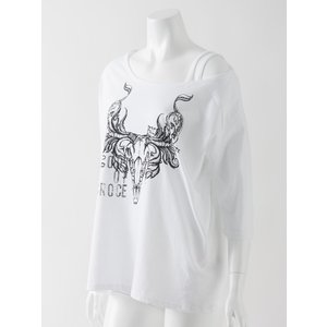 バッファロープリント入りデザインTシャツ|ozzonjapan