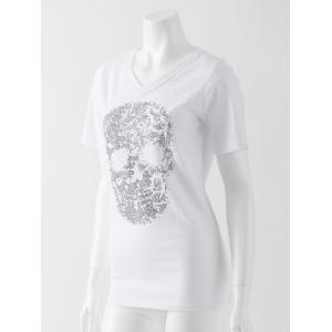 スカルメタル入りTシャツ|ozzonjapan