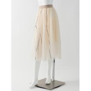 メロー使いチュールスカート|ozzonjapan