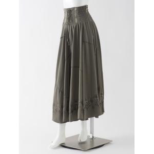 Indian×Gothicロングスカート ozzonjapan