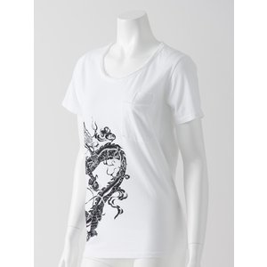 和龍2ポケットデザインTシャツ|ozzonjapan