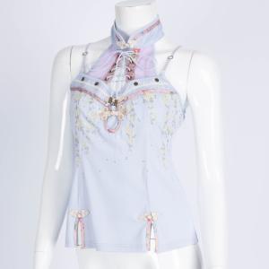 枝垂れ桜刺繍キャミソール 桜 3311102f|ozzonjapan