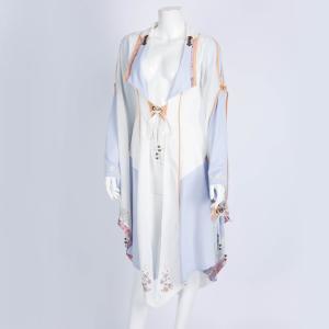 桜刺繍着物袖カーディガン  3311103f|ozzonjapan