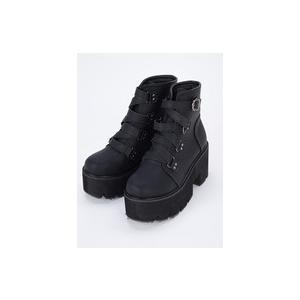 ベルトショートブーツ37サイズ 3313904a|ozzonjapan