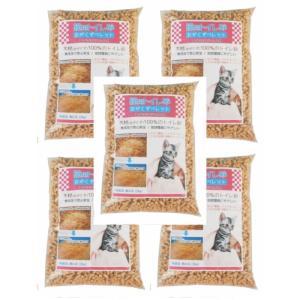 猫砂 おがくずペレット 10kg (2kg入x5袋:約16L) 小分け包装