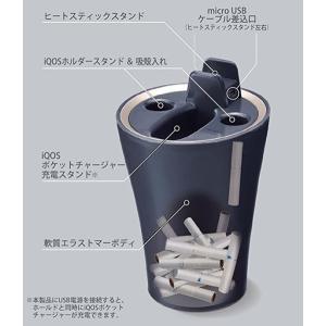 iQOS専用充電スタンド 車用灰皿 iQOS専...の詳細画像2