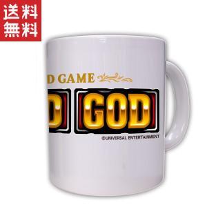 ミリオンゴッド GOD マグカップ / パチスロ スロット キャラクター グッズ|p-entamestore