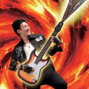 ギター型 クラッカー 余興 お誕生日 バースデー ライブ イベント 二次会/ ファイヤーギタークラッカー (弾2発付) (K-2803_102610)u89-f92|p-kaneko