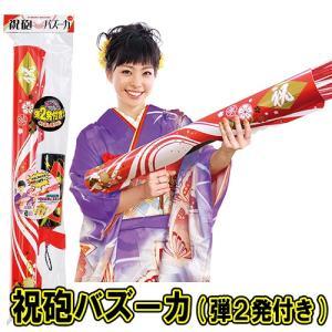 クラッカー バズーカタイプ 結婚式 お誕生日 クリスマス イベント お祝い 二次会/ 祝砲バズーカ (替え弾2個入) (K-2703_101057)u89-f92|p-kaneko