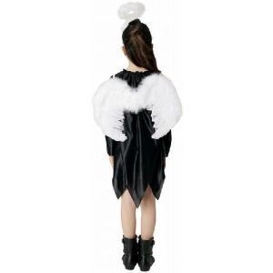 エンジェルパーツセット (ホワイト) 大人子供兼用2点セット 天使の羽根 天使の翼 天使の輪 イベント 天使_hw16_ld08(827078)|p-kaneko