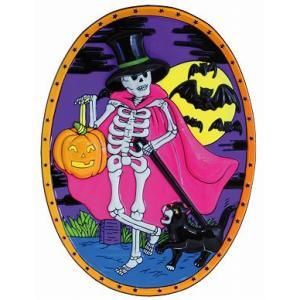 ハロウィン ナイト ウォールデコ(Halloween Night Wall Deco)(022901)_HB