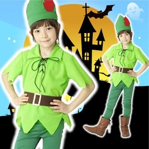 ファンタジーボーイ (140cm)ハロウィン衣装 子供 男の子 ハロウィーン ピーターパン halloween(826446)|p-kaneko