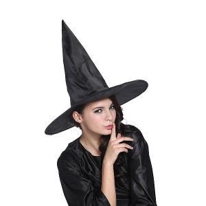 アングルハットウィッチ(魔女の帽子 大人用)   /魔女 帽子 コスプレ ハロウィン衣装 大人 魔女_hw16_ld01 (468387)|p-kaneko