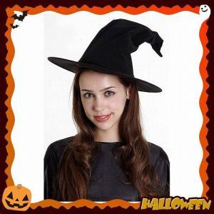 クラシカルウィッチ帽 (大人用)   /魔女 帽子 コスプレ 大人 女性衣装 ハロウィン衣装 魔女_hw16_ld01 (848219)|p-kaneko