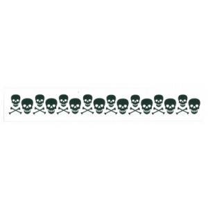 タトゥー シール コスプレ ハロウィン イベント 入れ墨 刺青 フェイスシール/ メイクシール(スカルアーム) (_954616)_HB|p-kaneko