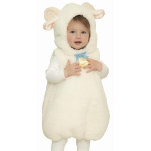 0c38167a815f3 ひつじ コスプレ 赤ちゃん衣装 マシュマロシープ ベビー  シープ 羊 コスチューム ベビー ハロウィン コスチューム 衣装 仮装 (882299)