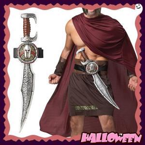 スパルタンソード (Spartan Sword with Scabbard)  | ローマ帝国 刀 剣闘士 ハロウィングッズ 武器 小道具 | (_035335)|p-kaneko