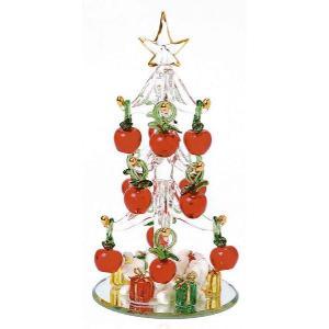 クリスタルアップルツリー 『クリスマスツリー クリスマスグッズ』 (1654)|p-kaneko