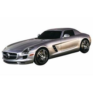 |シルバー| メルセデスベンツ SLS AMG (ラジコンカー) |RC ラジコン スーパーカー 高級車| (Z-0118_311588)|p-kaneko