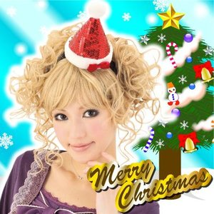 キラキラサンタ帽子カチューシャ    サンタ コスプレ カチューシャ ヘアアクセサリー サンタグッズ クリスマスグッズ   (068981) p-kaneko