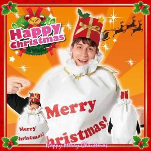 袋マン (大人男女兼用)    クリスマス衣装 サンタの袋 コスプレ 大人衣装 プレゼント袋 コスチューム  (_849155)|p-kaneko