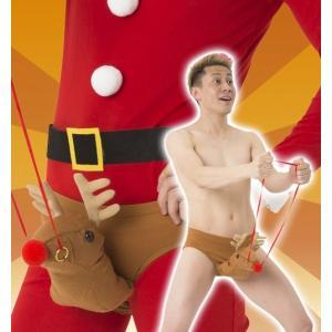 トナカイジョークパンツ  /トナカイ コスプレ トナカイ コスチューム 男性用 クリスマス 衣装 コスチューム 仮装 メンズ (874140)|p-kaneko