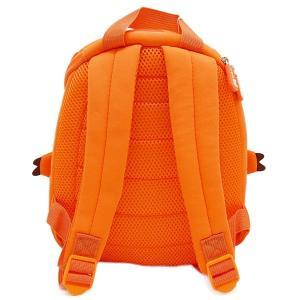 NOHOO ノーフー 子供用 リュック SMサイズ 恐竜 オレンジ ウェットスーツ 素材 キッズ かわいい 可愛い プレゼント ギフト|p-market|03