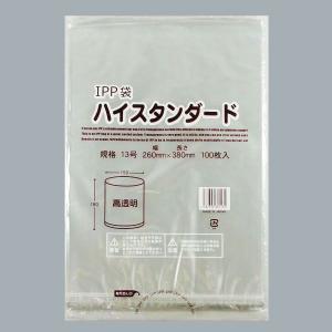 パン袋 IPP規格袋 13号(260×380) ハイスタンダード 100枚 p-maruoka