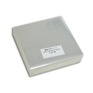 <業務用>  食品用 OPPシート #30×120×120 透明シート 1000枚 p-maruoka