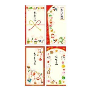 ポチ袋 万型 和風ファンシー 7-563 100冊 p-maruoka