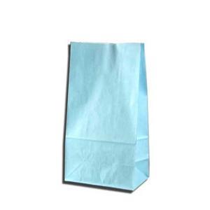紙袋 K4 白筋無地B 柄入角底袋 50枚|p-maruoka