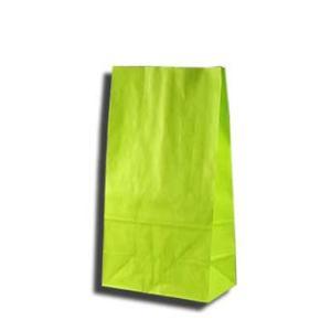 紙袋 K4 白筋無地LG 柄入角底袋 50枚|p-maruoka