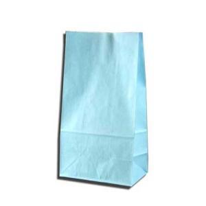 紙袋 K6 白筋無地B 柄入角底袋 50枚|p-maruoka