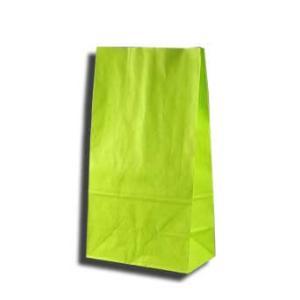 紙袋 K6 白筋無地LG 柄入角底袋 50枚|p-maruoka