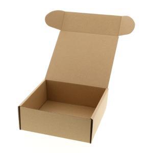 ナチュラルボックス Z-15 組立式紙箱 (縦180 横180 高さ70 (組立式)) 10枚|p-maruoka