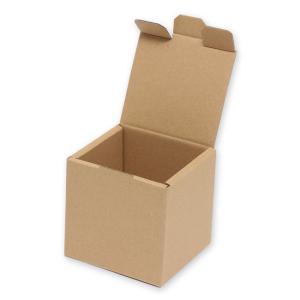 ナチュラルボックス Z-106 サック式紙箱 (内寸縦80 内寸横80 内寸高さ80) 10枚|p-maruoka