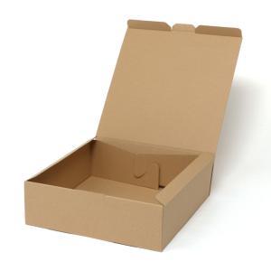ナチュラルボックス エコ Z-5 組立式紙箱 (内寸縦290 内寸横290 内寸高さ90 形状組立て式(身/蓋一体式)) 10枚|p-maruoka