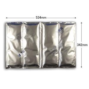 <国産> 保冷材 キャッチクールマット (縦342 横534 厚み約20) 1個|p-maruoka