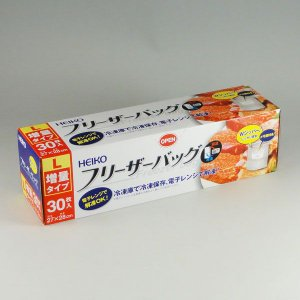 Hフリーザーバッグ 増量タイプL(30枚) 1個|p-maruoka